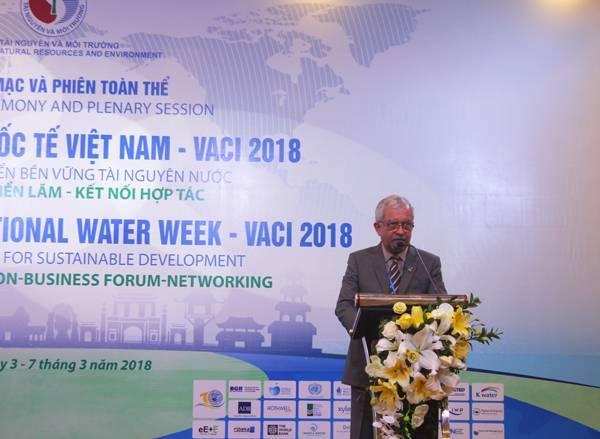 Hợp tác phát triển bền vững tài nguyên nước