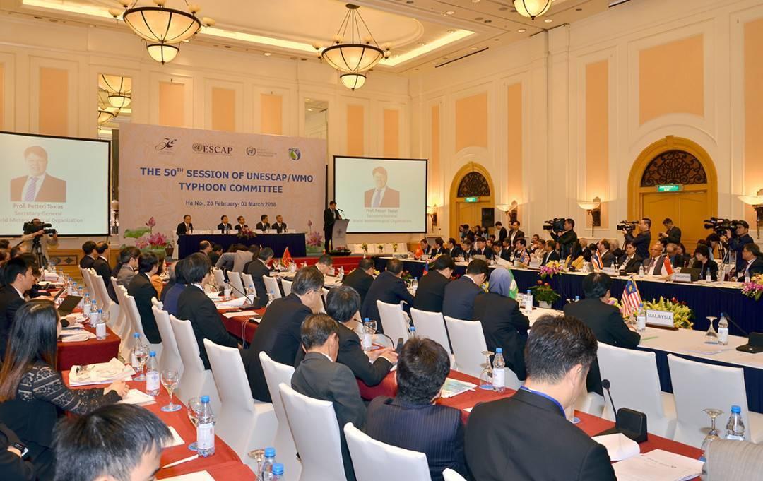 Bộ trưởng Trần Hồng Hà: Việt Nam đã tích cực tham gia các hoạt động của Ủy ban Bão quốc tế