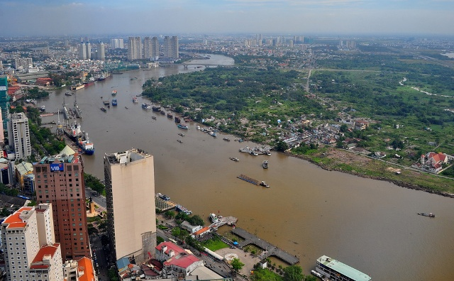 Thành phố Hồ Chí Minh: Nguy cơ xâm nhập mặn các sông chính