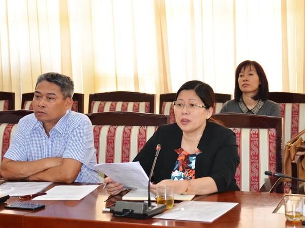 Thứ trưởng Nguyễn Thị Phương Hoa tiếp công dân định kỳ tháng 5 năm 2017