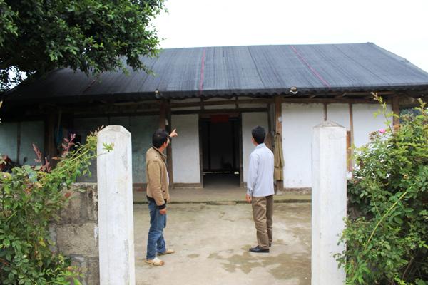 Hà Giang: Nhân rộng mô hình dùng lưới che mái nhà phòng chống thiên tai