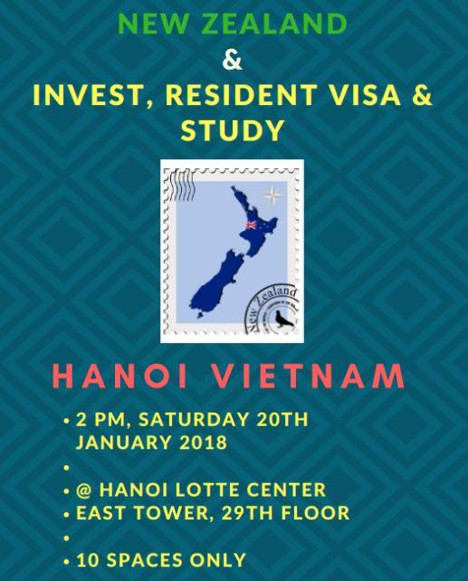 Cơ hội đầu tư, định cư và học tập tại New Zealand? Đăng ký để miễn phí tham gia Hội thảo